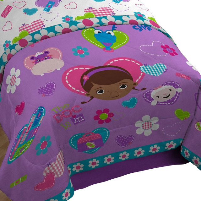 Disney Doc Mcstuffins Twin Comforter Animal Friends Bedding Contemporary Kids Bedding By