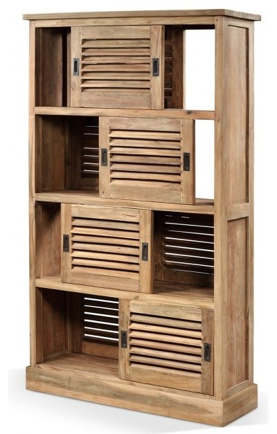 Louvered storage screen - Modern - Storage Cabinets - london - by Raft Furniture