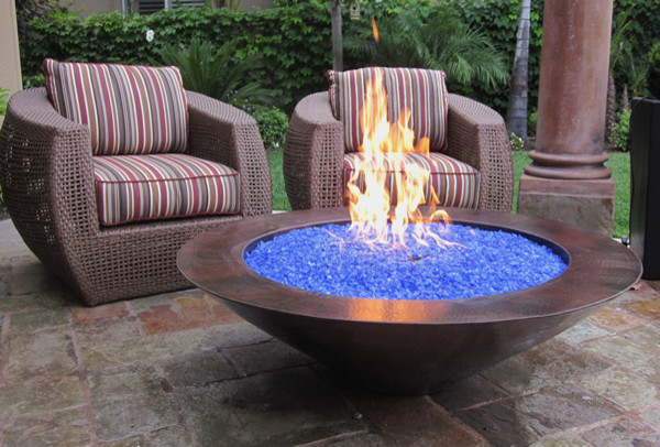 Grand effects one bowl 30 essex fire bowl system - Pool fire bowls ...