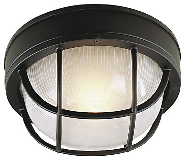 Z394 05 Matte Black Bulkheads 1 Light Wall Sconce or