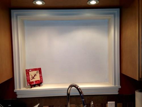 Need Help With Windowless Kitchen Window