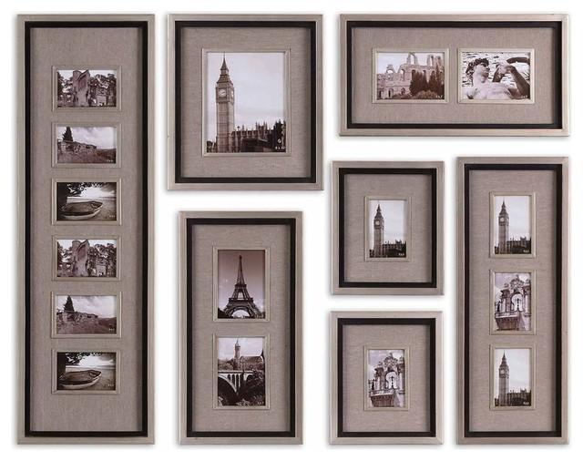 Elegant multiple photo frame collage set of 7 frames for Modern collage frame