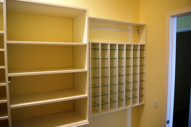 custom closet ideas and features contemporary closet