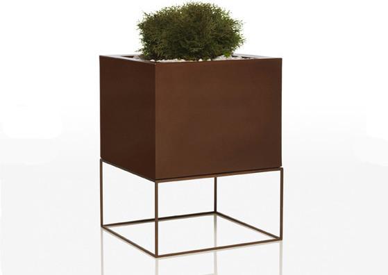 vondom vela cubo contemporain pot et jardini re d 39 ext rieur par. Black Bedroom Furniture Sets. Home Design Ideas