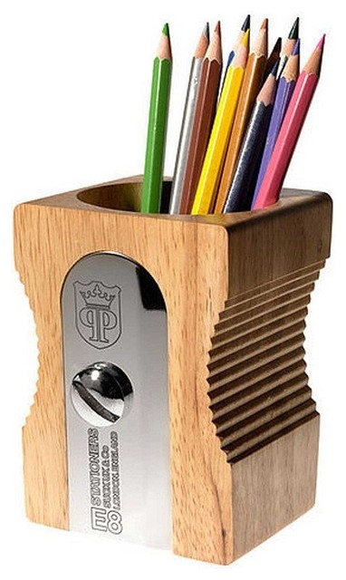 Pencil Pot Contemporary Desk Accessories By LBC Modern