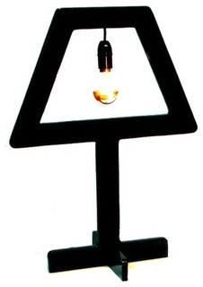 Symbol table light eclectic table lamps by for Table lamp election symbol