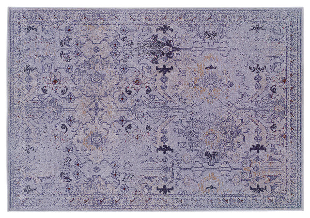 Itasca rug purple contemporary area rugs for Purple area rugs contemporary