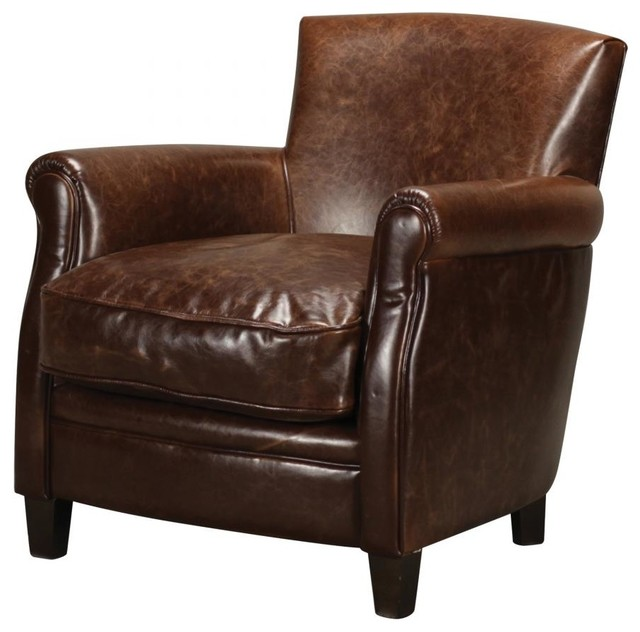 leather arm chair contemporary living room chairs by we got lites. Black Bedroom Furniture Sets. Home Design Ideas