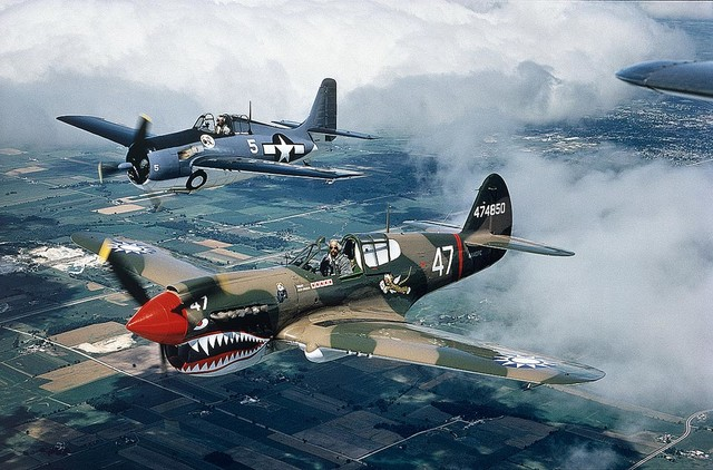 World War Ii Planes Wallpaper Wall Mural Self Adhesive