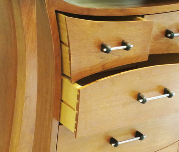 Curved Chest Of Drawers Other Metro By Jacob Blok
