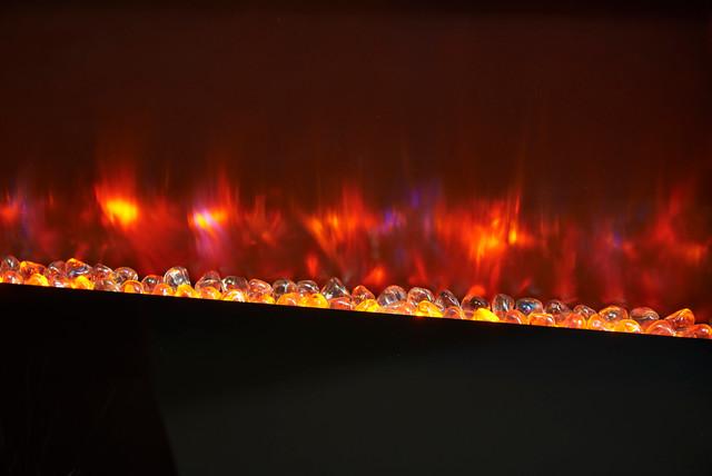 Electric Fireplace Glass Media