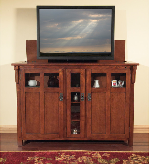 Bungalow Tv Lift Cabinet For Flat Screen Tv S Up To 55