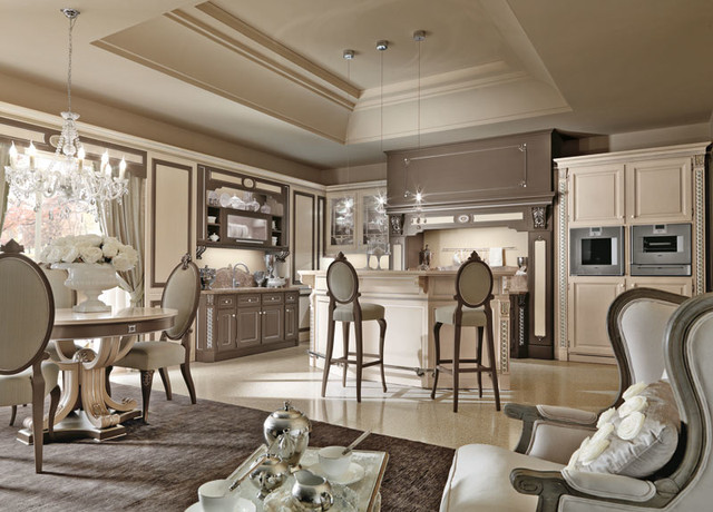 Luxury Italian Custom Made Kitchens By Martini Mobili