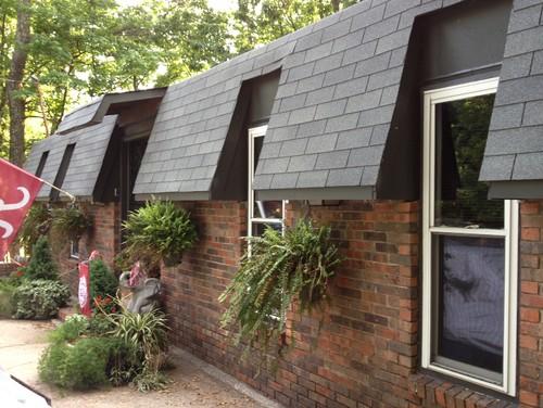 Help Mansard Roof Update