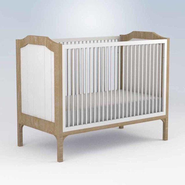 Stonington Crib Modern Cots Cribs And Cot Beds By Rosenberry Rooms