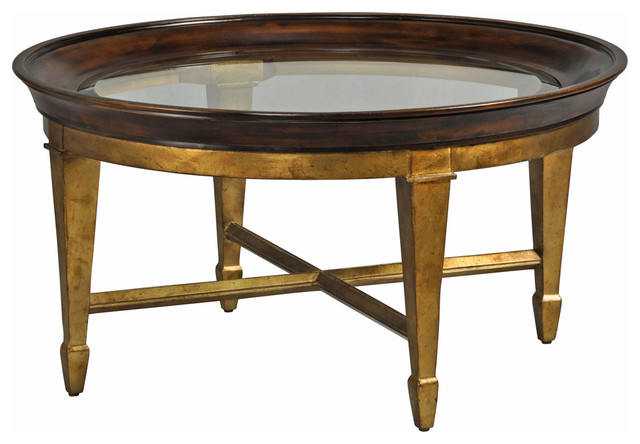 Luna Cocktail Table Traditional Coffee Tables Other Metro By Ambella Home Collection Inc