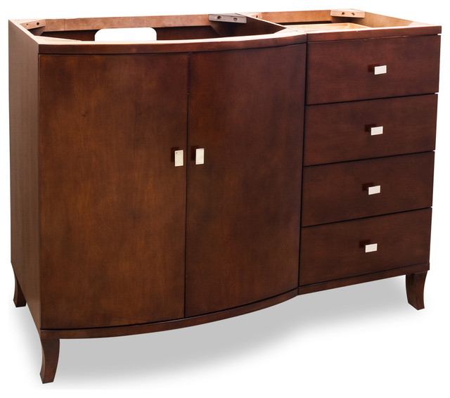 Lyn Design Wood Vanity Without Top Traditional Bathroom Vanities And Sink Consoles By