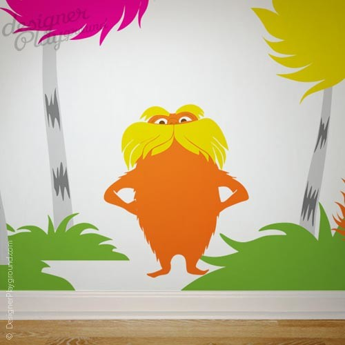 Dr Seuss Wall Decal Traditional Kids Decor Other