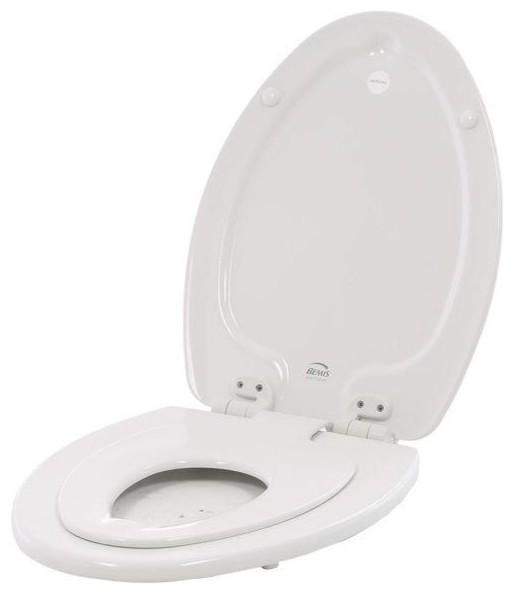 BEMIS Seats NextStep Elongated Closed Front Toilet Seat in