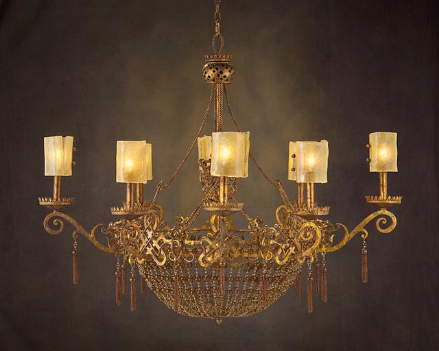 john richard 8 light chandelier ajc 8599 contemporary. Black Bedroom Furniture Sets. Home Design Ideas