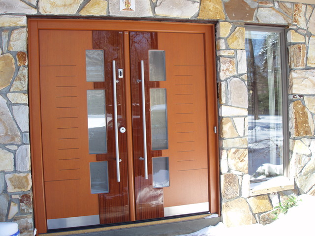European Doors Exterior Interior Private Residence In