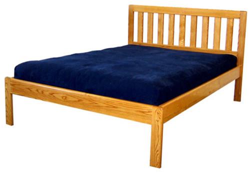 The bedworks of maine danforth ii platform bed frame twin traditional platform beds - Platform bed frame australia ...
