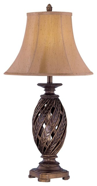 Table Lamp In Antique Bronze Traditional Table Lamps
