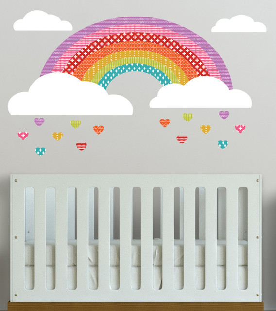 girls rainbow wall decal removable wall decal self pics photos rainbow wall decal contents
