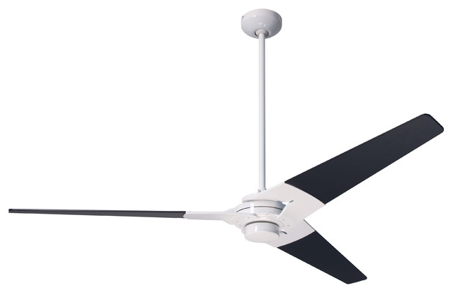 Modern fan company torsion gloss white 42 ceiling fan Modern white ceiling fan