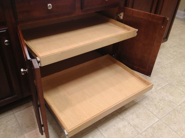 Pull Out Shelves for Base Kitchen Cabinets - Kitchen Drawer Organizers - toronto - by ShelfGenie ...