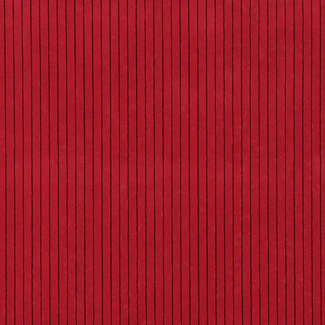 Red Striped Microfiber Upholstery Fabric By The Yard
