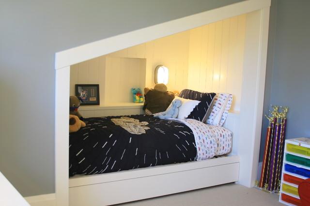 Built In Bed Nook