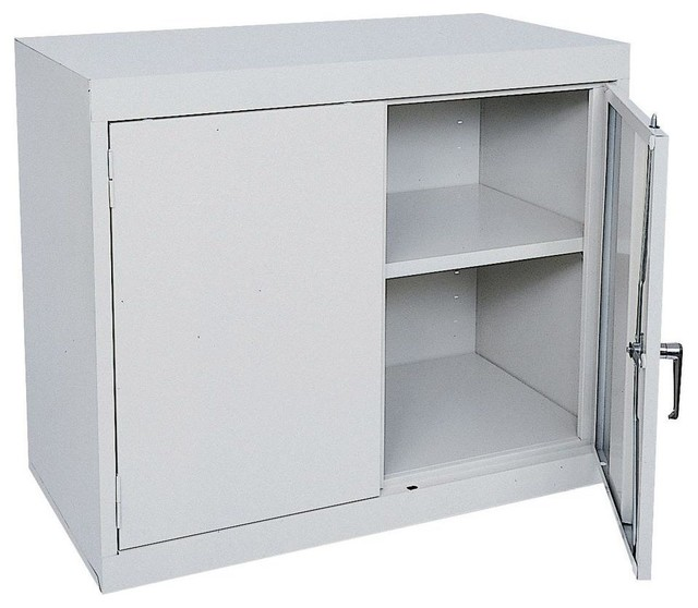 Free Standing Cabinets Racks & Shelves: Sandusky Garage Cabinets 36 in. W x 30 - Contemporary ...
