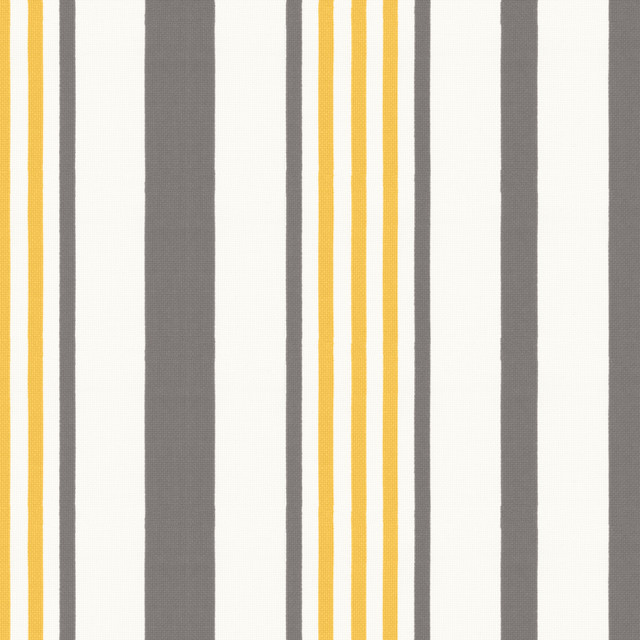 Stripe Out In Ash Outdoor Fabric New York By Loom Decor