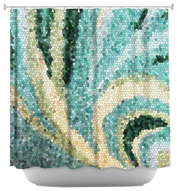 Mosaic Swirl Shower Curtain