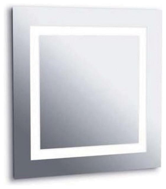 Plaza Small Mirror Dimmable Contemporary Orange County By Lightopia