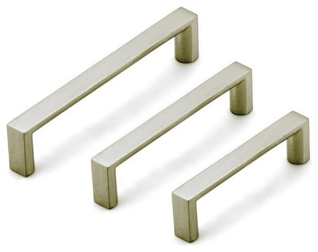 Dowell 3007 160 02 handle contemporary cabinet and drawer knobs by laladecor - Contemporary cabinet pulls ...