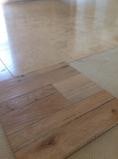 Does A Rustic Hardwood Floor Look Good In House With Nice