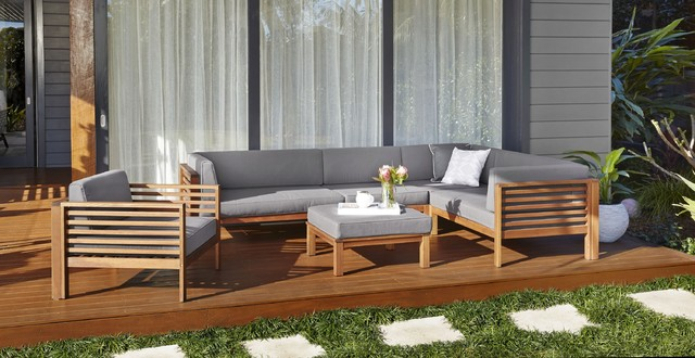 Timber Outdoor Lounge Chairs | Bedroom and Living Room Image ...