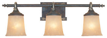 Austin 3 Light Bath Bar  Modern  Bathroom Vanity Lighting  by