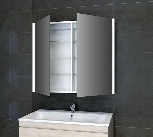 Nevada led cabinet modern bathroom cabinets shelves for Bathroom cabinets yorkshire