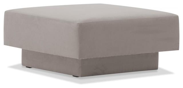 ottomane wilson hellbeige bauhaus look fu hocker. Black Bedroom Furniture Sets. Home Design Ideas