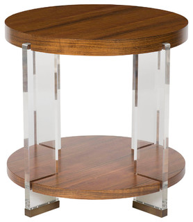 Vanguard furniture dell rey lamp table p402l mu for Chair table lamp yonge st