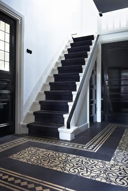 carreaux ciment classique entr e other metro par la maestria. Black Bedroom Furniture Sets. Home Design Ideas