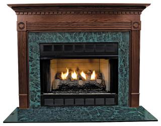 "Windsor Mdf Primed White Fireplace Mantel Surround, 36"" - Modern ..."