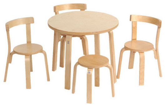 Svan Play With Me Toddler Table And Chairs Contemporary