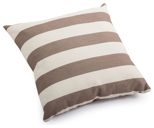 Zuo Modern Pony Small Pillow Beige & Brown Bold - Modern - Decorative Pillows - by Beyond Stores