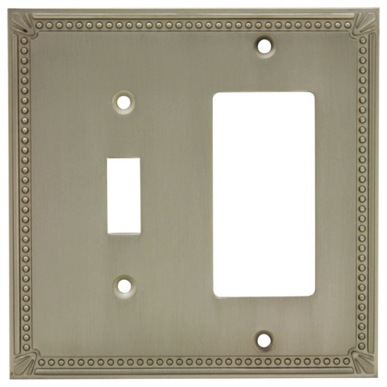 Decorative Wall Plates For Electrical Outlets : Cosmas decorative wall plates and outlet covers satin