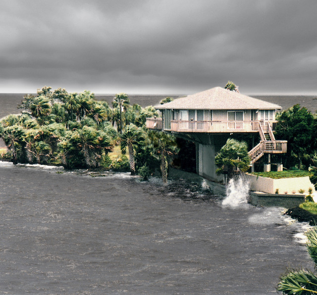 Elevated hurricane proof home on pilings stilts other metro by topsider homes - Hurricane proof homes design ...