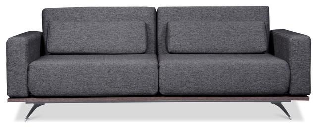 schlafsofa copperfield grau schwarz modern sofas von fashion for home deutschland. Black Bedroom Furniture Sets. Home Design Ideas